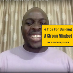 MLM Success Tips for building a strong mindset