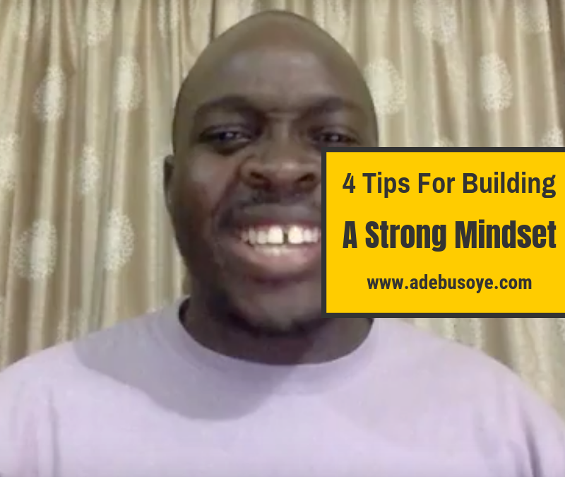 4  Awesome MLM Success Tips For Building A Strong Mindset