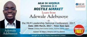 MLM In Nigeria- Adebusoye Deqna