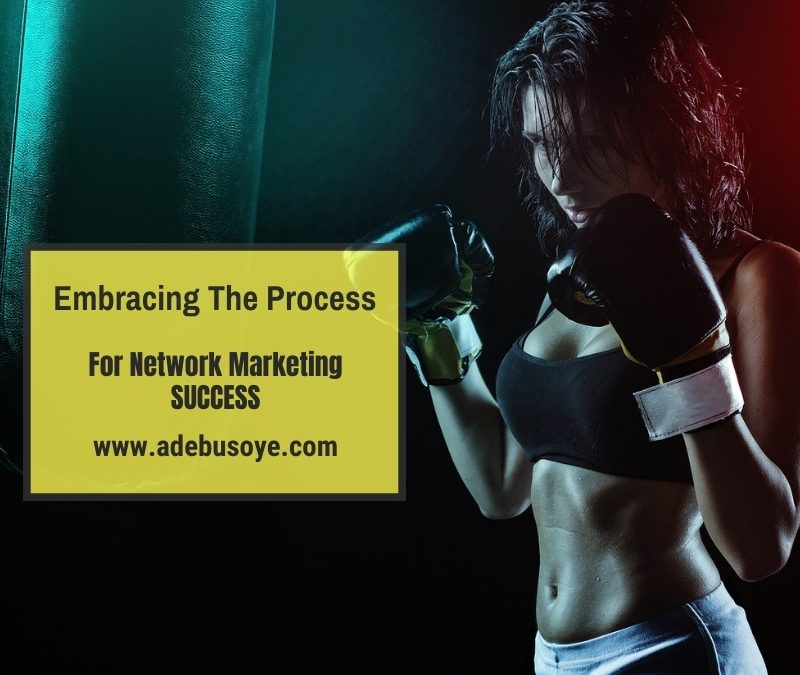Embracing The Process For Network Marketing Success