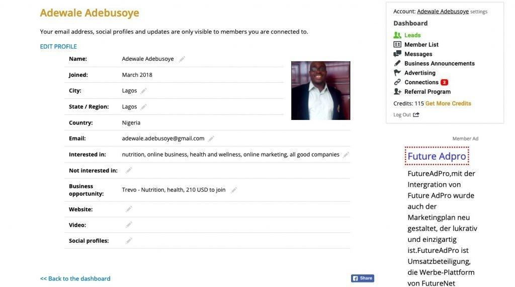 mlm gateway review dashboard